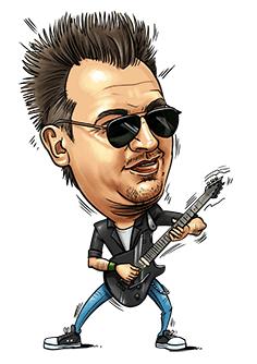 Karykatura Waldemar Szoff